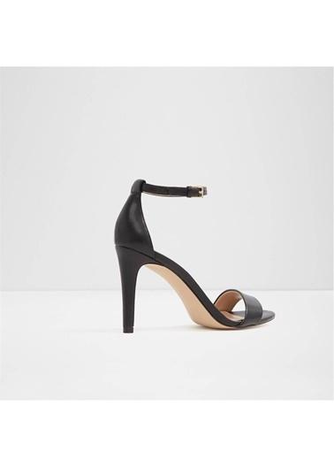 Aldo Bilekten Bağlamalı İnce Topuklu Ayakkabı Siyah